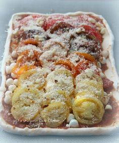 Roasted Heirloom Tomato Tart