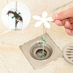 More Care 1PC Bathroom Hair Clog Remover Tool Bathtub Shower Hair Cleaner Hook Notice:andlt