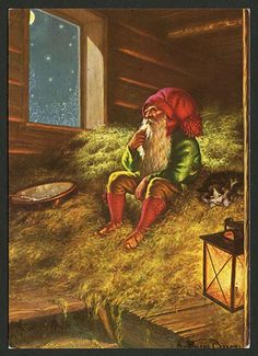 Julkort av Anders Olsson