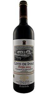 2005 El Coto de Imaz Rioja Reserva