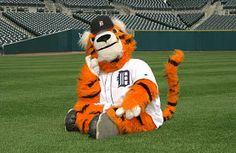 Detroit Tigers mascot