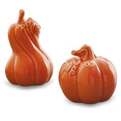 Pumpkin and Gourd Salt and Pepper Shaker Set @ Papyrus