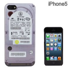FLASHBACKS Old-School iPhone 5 Case Hard Disk Drive