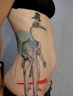 World Strange Tattoo Design