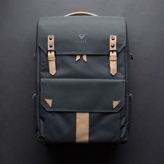 Charcoal | Natural Leather  Introducing VINTA's first camera backpack the S | Series is a necessity for ...
