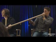 "Funny Supernatural Convention Moments! i love that at about 5 minutes, ""GET THOSE SLUTS AWAY FROM OUR BOYS!"""