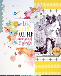 Have you ever completed a layout and loved it so much that you decided to create a second page to go with it? Designer @kjstarre created this stunning layout using the #may2017 #hipkits! @hipkitclub #hipkitexclusives #hkcexclusives #exclusives #hipkit #hipkitclub #textures #machinestitching #scrapbooking #scrapbooklayout #papercrafting #kitclub #scrapbookingkitclub #colors #layers #dimension #scrapbookkits #mainkit #projectlifekit #mixedmedia #doublelayout #embellishmentkit