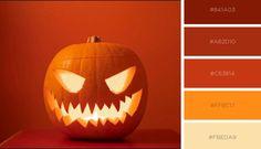 #pantone #colors #orange #yellow #halloween #halloweencolors #pumpkin