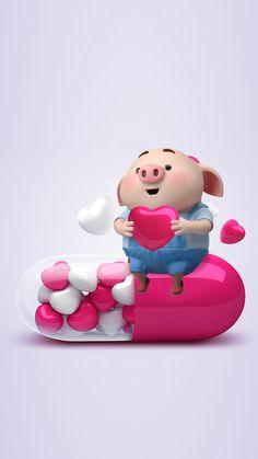 This Little Piggy, Little Pigs, Kawaii Pig, Pig Wallpaper, Cute Piglets, Pig Illustration, Funny Pigs, Pig Art, Mini Pigs