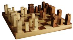 chess set Christiane Nowak