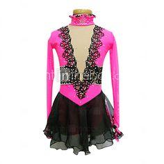 Vestidos y faldas / Vestidos(Rosa) -Patinaje- paraMujer - USD $79.99