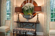 Foyer. Great idea for Foyer! #Foyer