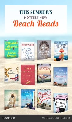 Fantastic beach reads to add to your summer reading list.
