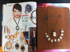 My cameo jewellery
