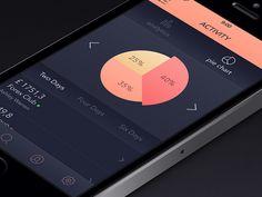 Activity Screen [Pie Chart]