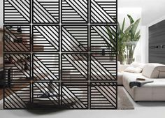 Room Divider. Interior partition. Room decor. Hanging screen