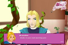 Winx Club PC Game - 6. Bloom meets sky at the ball