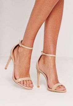 Nude sandals are a necessity for your wardrobe. Shop the look now on Keep!