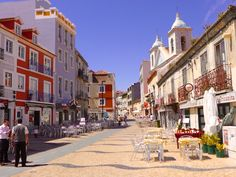 UK Travel Writer Fiona Dunlop writes that Lisbon is Europe's seafood capital. After reading the article, who doesn't agree? #Lisboa Visit Lisboa #seafood #visitlisboa Portugal - May 2015  Lisbon_Cacilhas_main_street