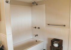 Small tuscan bathroom tuscan decor pinterest the o for 3 piece bathroom ideas