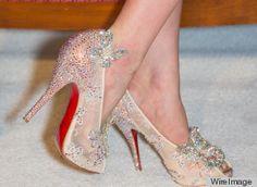 Buy Christian Louboutin Blue Sole Wedding Shoes