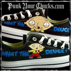 Family Guy Low Top Custom Converse Sneakers, $249.00