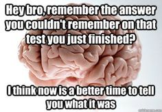 Scumbag Brain. Every single time.