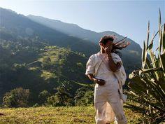 Pueblo Viejo, la capital Kogui de la Sierra Nevada. hay 9.173 koguis en el territorio nacional, concentrados, principalmente, en los departamentos de la Guajira, Magdalena y Cesar.