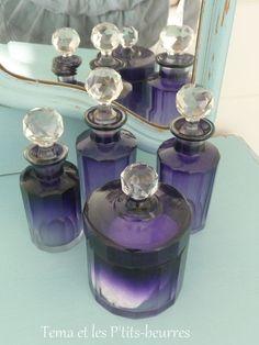 flacons anciens perfume bottles