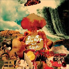 Designed by Julian House, this album seems to represent some kind of bizarre snack-based religious and/or musical armageddon. Which, for Oasis, it pretty much the standard for their day to day lives.