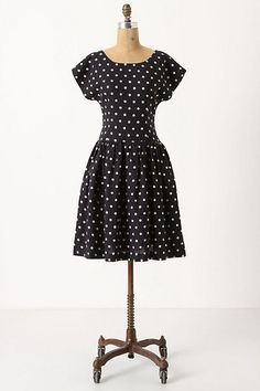 Simple and lovely summer polka dress.