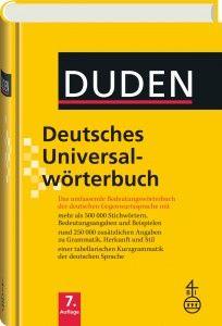 G O-G/913 - Duden - Deutsches Universalwörterbuch