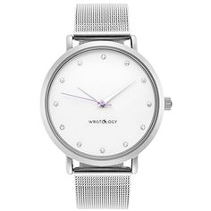 WRISTOLOGY Olivia Womens Crystal Silver Boyfriend Watch Metal Mesh Strap Reviews  $  39.99   Women Watches Product Features     Womens boyfriend watch featuring a chunky, feminine design that transitions well from day to night   DESIGN – Olivia features a slim case, crystal graced, simple white face and a metal mesh band   QUALITY – Our women's boyfrien ..  http://www.bestwomenwatches.com/wristology-olivia-womens-crystal-silver-boyfriend-watch-metal-mesh-strap-reviews/