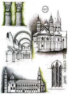 Romanic Architecture by dedeyutza.deviantart.com on @deviantART