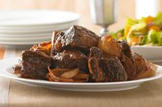 Slow-Cooked Beef Ribs for Passover recipe
