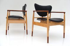 finn juhl chairs nr.48 made by baker furniture  by plastolux, via Flickr