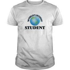 World's Sexiest Student - The perfect shirt to show your admiration for your hard working loved one.
