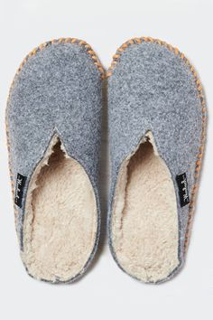 Perfect Slippers http://www.refinery29.com/cute-slippers#slide-6 Woolrich quality at an American Eagle Outfitters price point.