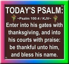 Psalm 100:4