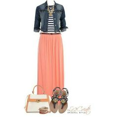 Maxi outfit