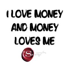 """#Gratitude is the most powerful way to attract things into our life. Today remember to lift your frequency around your finances by saying, """"I love money and money loves me"""""""