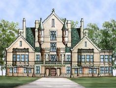 Looking for Castle of Ourem House Plan? Click here to view Castle of Ourem House Plan at ArchivalDesigns.com or call us @1-888-887-2584 for custom designs and free modification quotes.