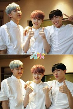 BTS | RAP MONSTER  SUGA and JHOPE