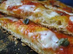 PIZZA CROCCANTE IN TEGLIA ( in giornata) | La settimana gastronomica