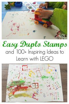 Easy duplo stamps fo
