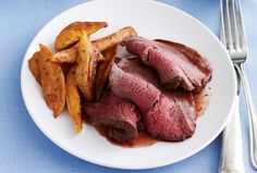 Silver Tip Roast with Fragrant Red Wine Sauce