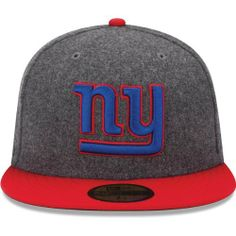 Men's New Era New York Giants Melton Basic 59FIFTY? Structured Fitted Hat by New Era. $35.95. 80% polyester, 20% wool. Team logo embroidered on front; NFL® Shield on backContrast-colored flat bill and top button. Fitted hat. Eyelets for ventilation Officially licensed Made in China. Keep your head toasty warm and full of spirit in this men's New Era® Melton Basic 59FIFTY® structured hat! The fitted cap displays your favorite team's logo embroidered on the front and the fam...