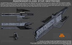 Aggressor-class star destroyer ortho [New] by unusualsuspex on DeviantArt