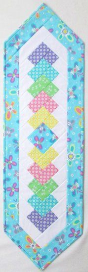Kansas Trouble Double Duty Quilt As You Go Table Runner