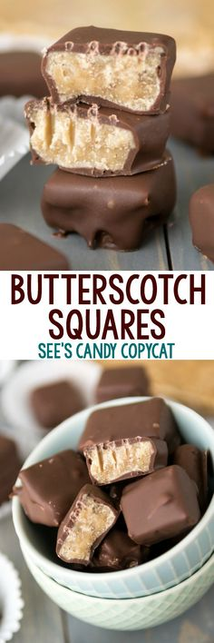 Easy Butterscotch Squares - a See's Candy copycat! We love making this candy at home.